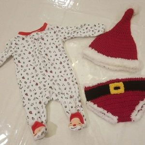 Newborn Christmas Set